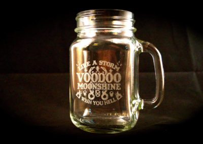 Voodoo Moonshine Jar
